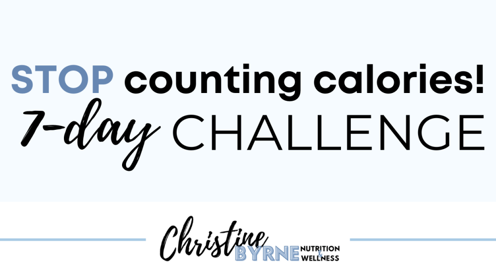 how to eat intuitively? For starters, stop counting calories.