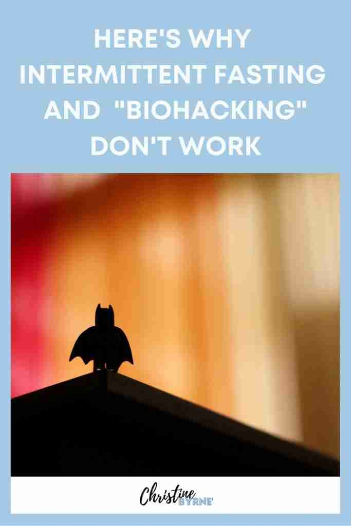 """Does biohacking really work? NO! Intermittent fasting and """"biohacking"""" don't work."""
