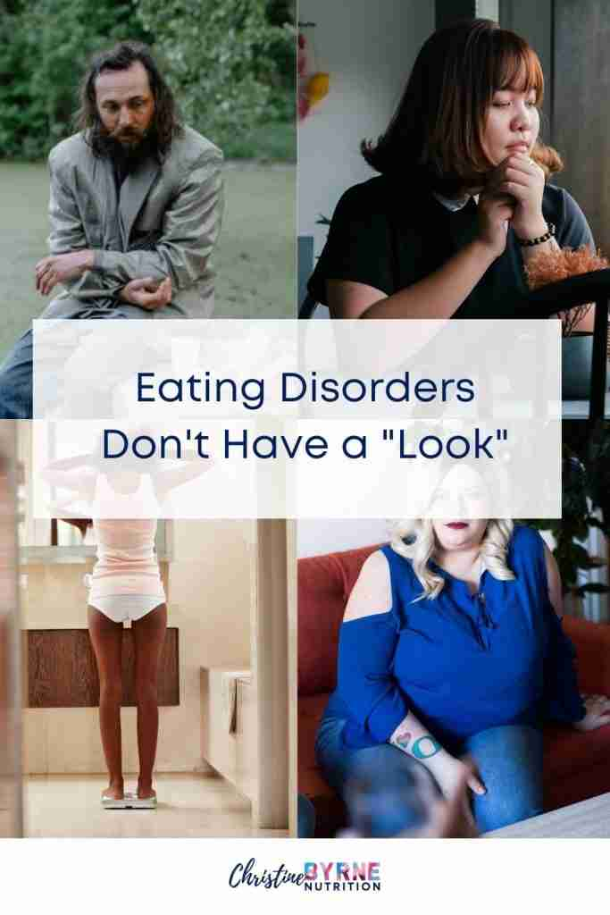 Eating disorders affect people of all shapes, sizes, backgrounds, gender identities, income levels, and more.