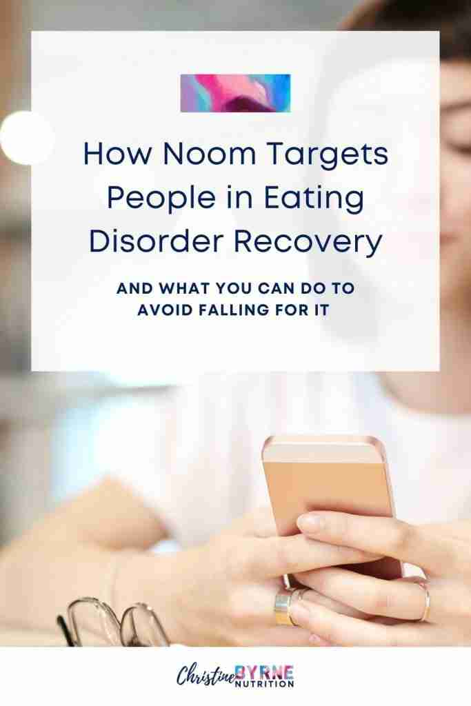 Noom uses shade marketing tactics like co-opting anti-diet language to target people in eating disorder recovery.