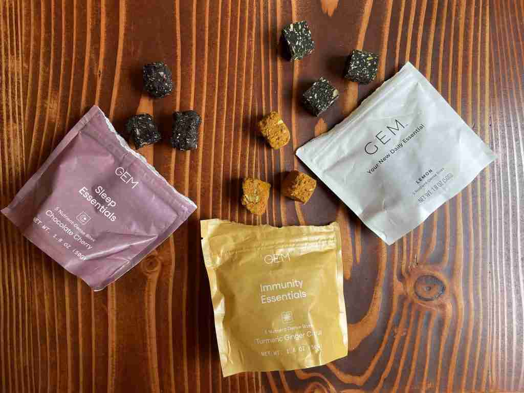 GEM vitamin review: They do not taste good