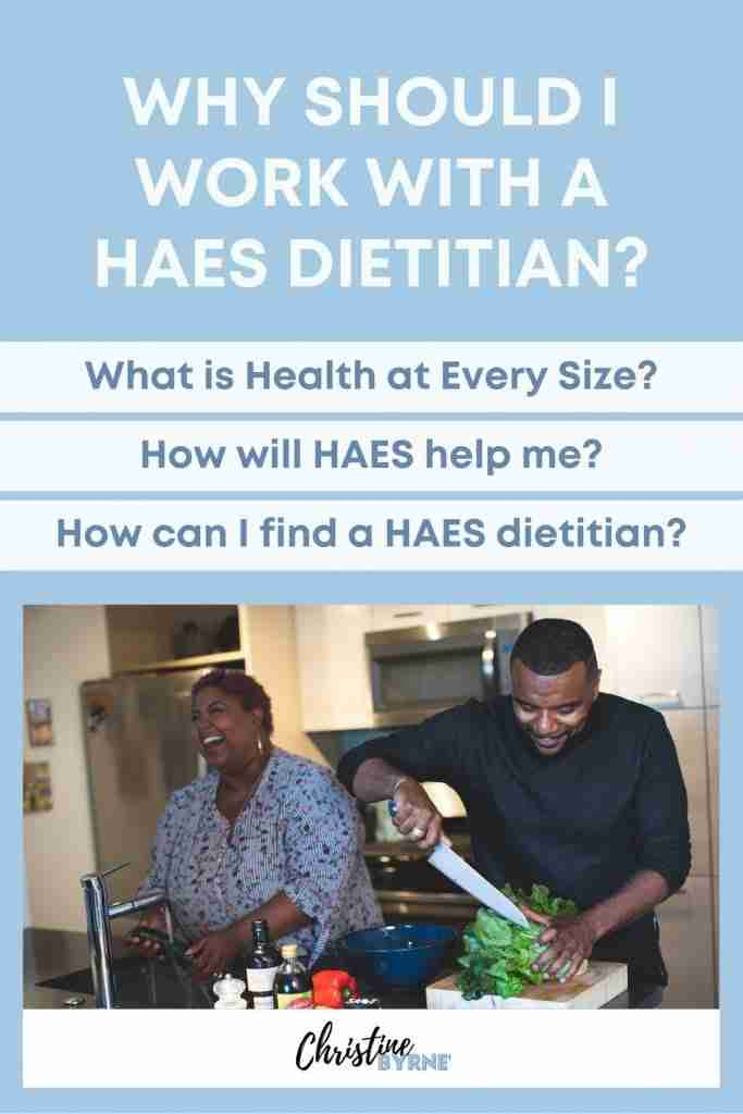 Why you should work with a HAES dietitian and HAES doctor for intuitive eating.